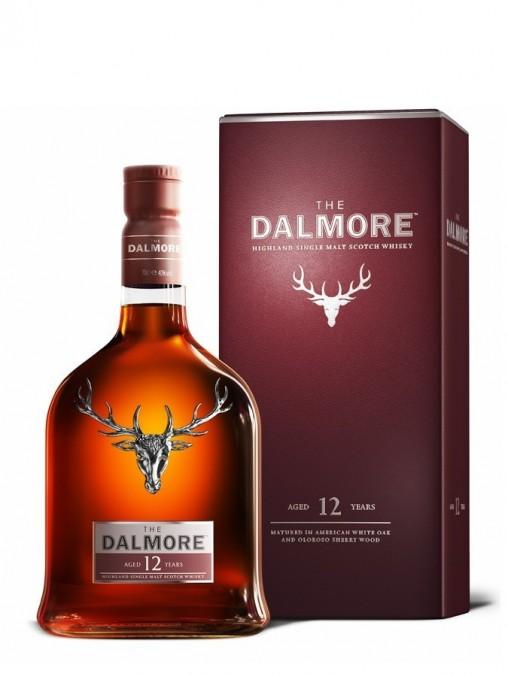 La bouteille de Dalmore 12 ans et son étui