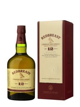 La bouteille de Redbreast 12 ans et son étui