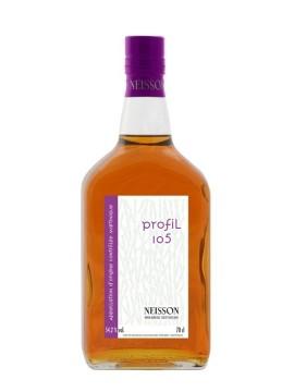 La bouteille de rhum Neisson profil 105.