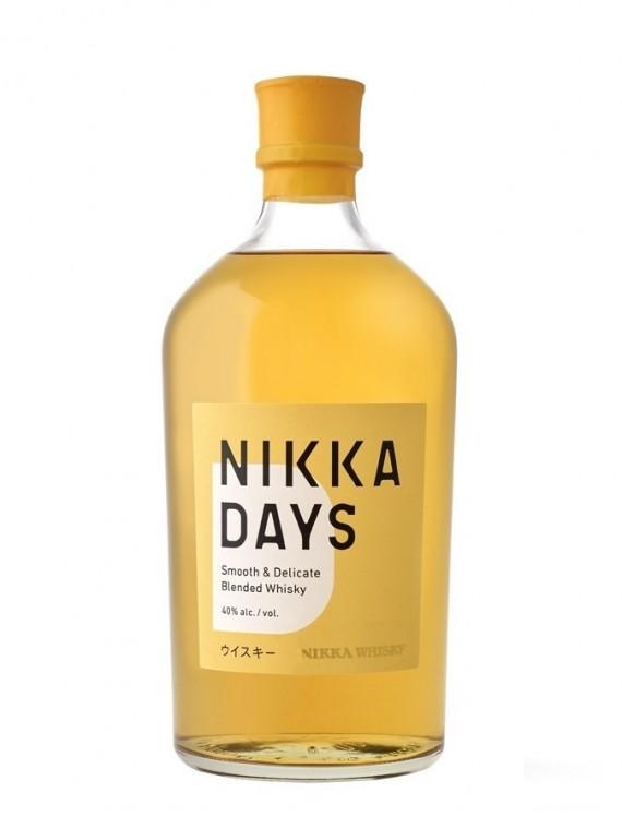 La bouteille de whisky Nikka days